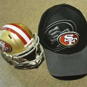 49ers-Riddell/New Era