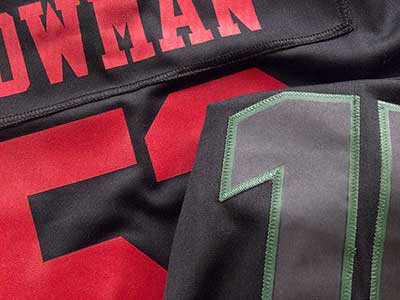 49ers NaVarro Bowman Alternate Jersey