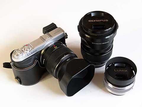 GX7w/SUMMILUX25mm M.ZUIKO12-40mm LUMIXG20mm