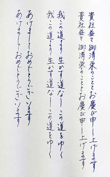プラチナ #3776  - 細軟 太字