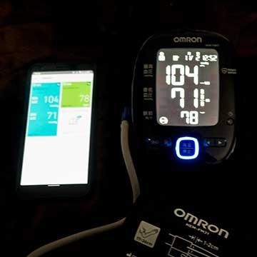 オムロン上腕式血圧計 HEM-7281T